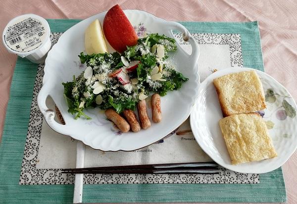 『Oisix』オイシックスお試し商品による朝食