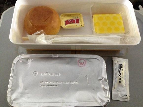 ルフトハンザの機内食と黒にんにく酵素