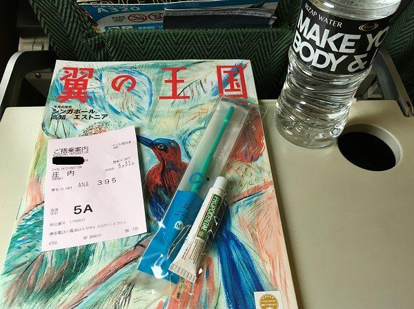 全日空の機内での歯周病・口臭予防の専用薬用ハミガキのプロポデンタルEX