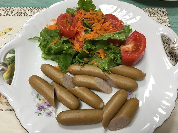 大地を守る会の宅配野菜を使って作った料理