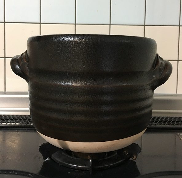 土釜(白米を炊く土釜)