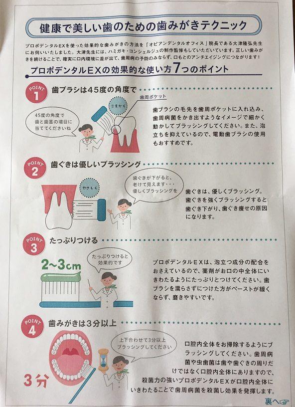 健康で美しい歯の為の歯磨きテクニック